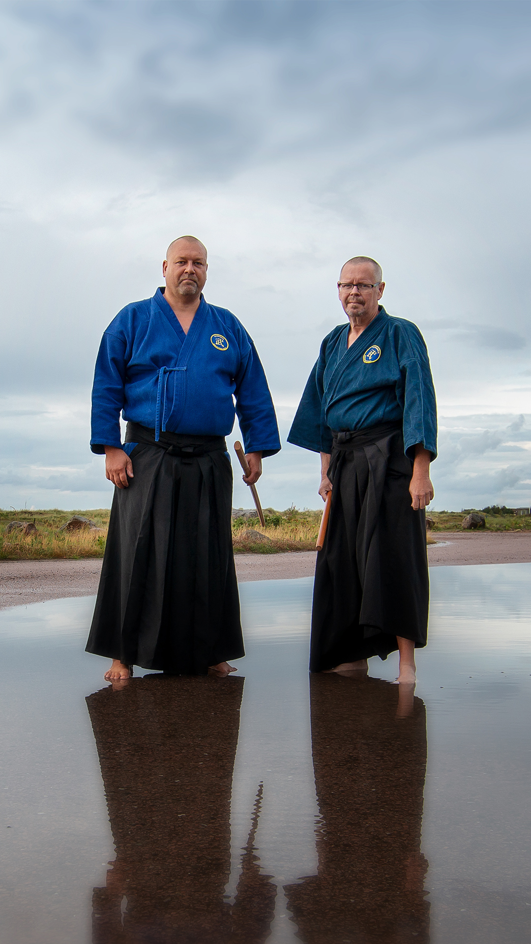 Johan Pettersson och Stig-Lennart Åkesson